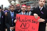 A Muslim Fraternity Confronts Negative Stereotypes, Takes a Stand