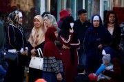 Muslim Uighur women