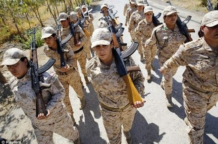 Female Soldier Talks About War Against ISIS