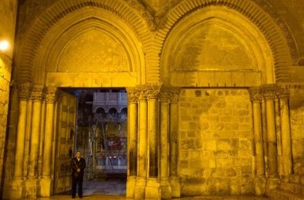 In Jerusalem, Muslims Care For Christian Holy Site