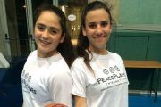 Ofir, left, is a Jewish Israeli, and Malak is a Muslim Palestinian_BASKETBALL