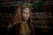 Bulgarian Brides Return To Ancient Face Painting Ritual
