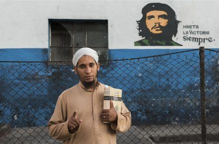 ANGLE ON: The Muslims Of Cuba