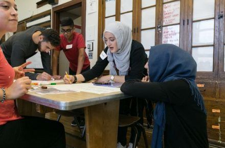 Muslims and Jews Working Together To Refresh Detroit School