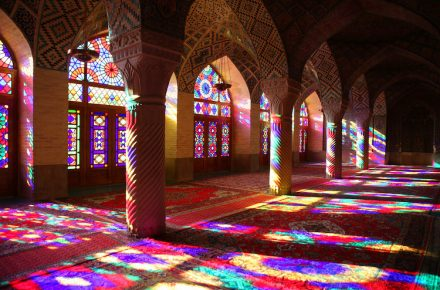 """Pink Mosque"" In Iran Delights The Eye... And The Soul"