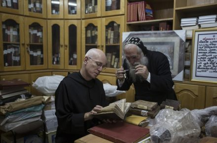 This Monk Is Helping Preserve Ancient Islamic Manuscripts