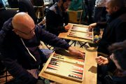 In Jerusalem, Arabs and Jews United By Ancient Board Game