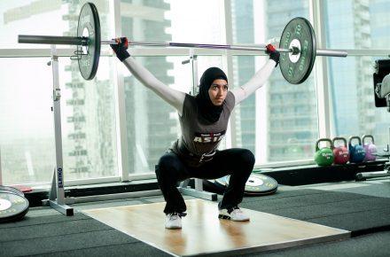 SPOTLIGHT ON: Weightlifter Pro Amna Al Haddad