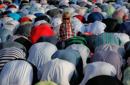 See How Muslims Around the World Celebrated Eid al-Fitr 2017