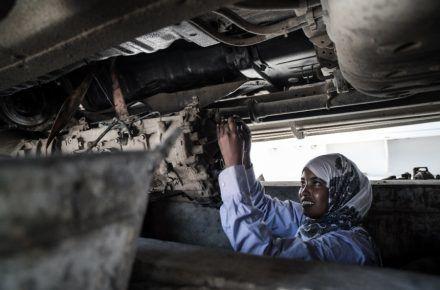 Meet Somalia's Only Female Mechanic