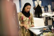Hijabi Contestant Represents on 'Project Runway'