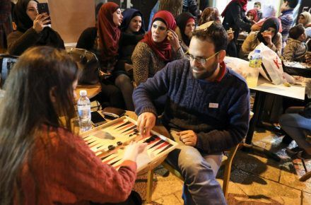 Arabs and Jews United By Ancient Board Game