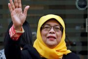 Singapore Elects Female President (and she's also Muslim)