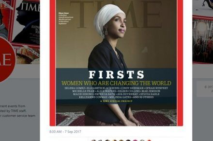 Representative Ilhan Omar Lands Another First, Cover of Time