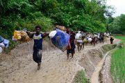 Myanmar's fleeing Rohingya Muslims Ask, 'Who will take us?'