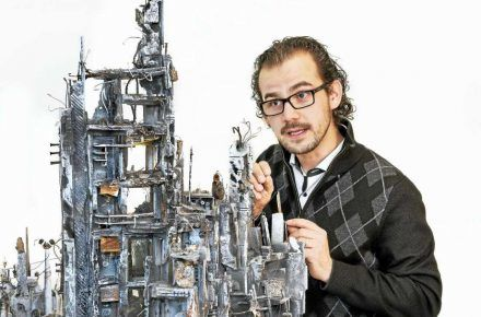 Working In Miniatures Has Big Impact For Syrian-American Artist