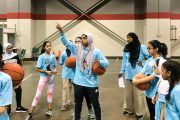 Hijabi Basketball Player's Dream Rebounds To Next Generation