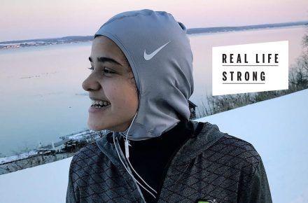 This Hijabi Was Born To Run