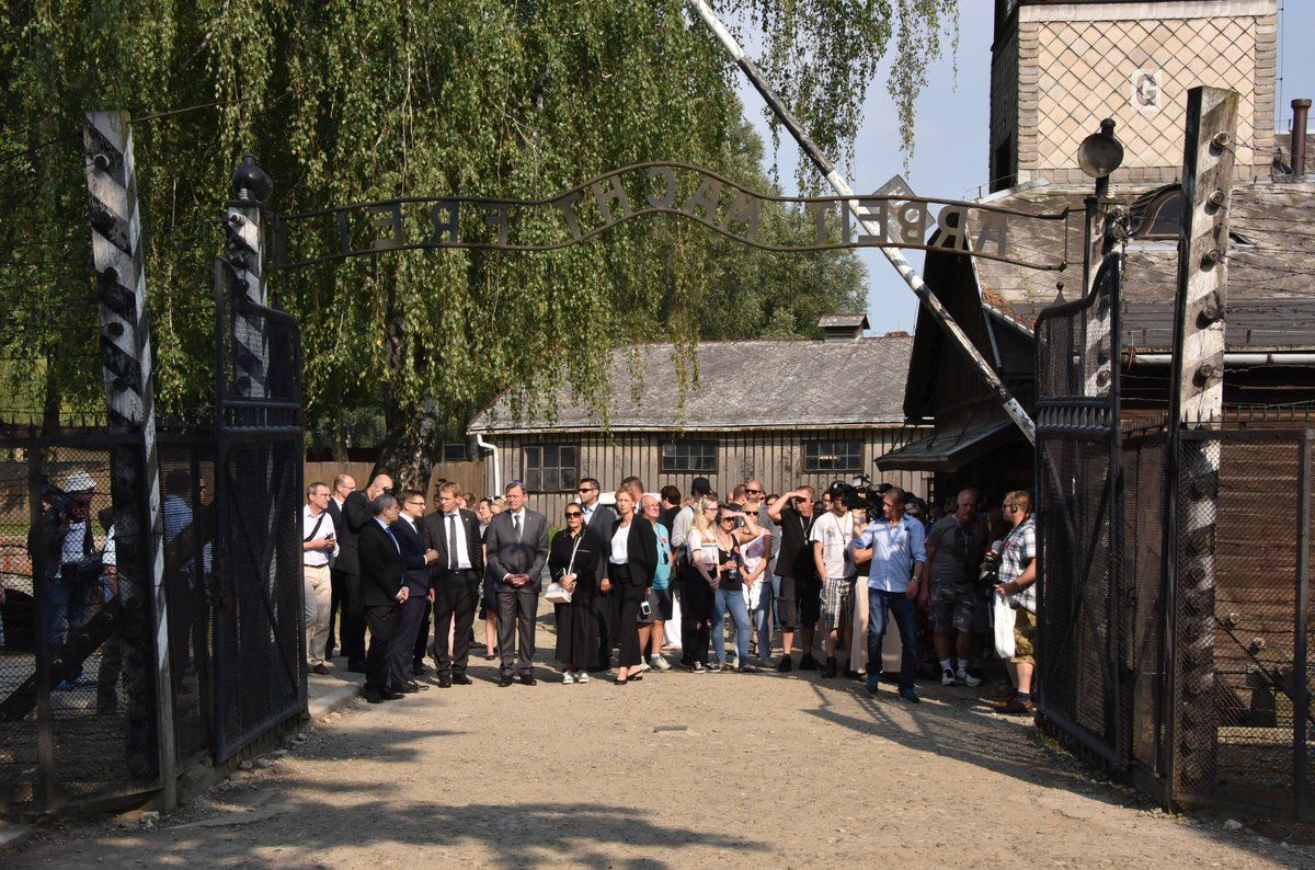 Photo Credit: Auschwitz Memorial via Jewish Press