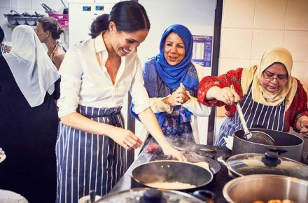 Duchess Meghan Markle Teams Up With London Mosque For Charity Cookbook