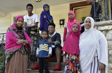 Somali Muslim Family Resettles to Kansas City, Father Left Behind...