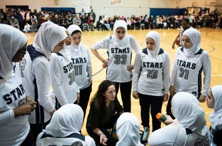 In Milwaukee, Muslim Girls' Basketball Team Wins On Their Terms