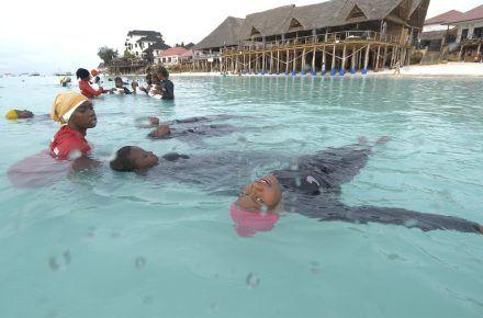 Inside Zanzibar's 'Burkini island'