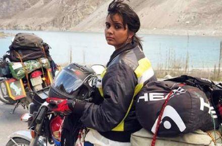 SPOTLIGHT ON: Pakistan's First Solo Muslim Female Biker
