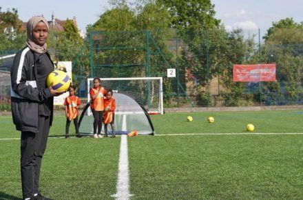 SPOTLIGHT ON:  England's First Female Muslim Football Referee
