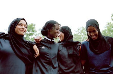 Hijabi Football Players Set Personal Goals In London