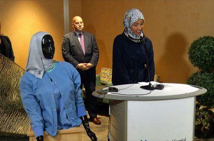 In Minnesota, Local Entrepreneur Creates 'Hospital Hijabs'