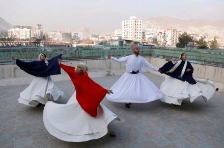 Teaching Dance In Afghanistan...