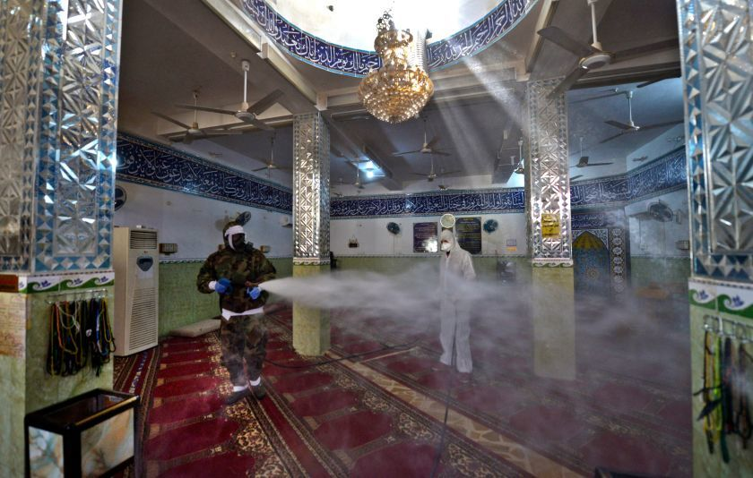 Photo Credit: Haidar Hamdani, AFP via LAT)