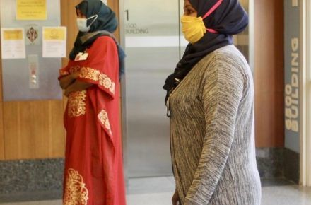 CoronaVirus Report: Sanitary Hijabs for the Essential Worker