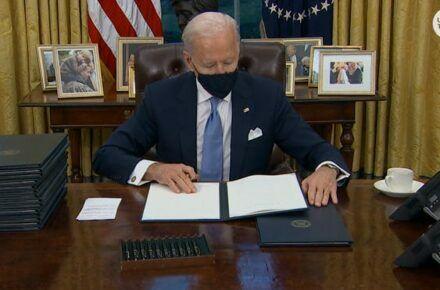President Biden ends Muslim travel ban
