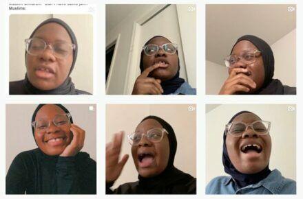 Comedian Nadirah Pierre and the Black Muslim experience...